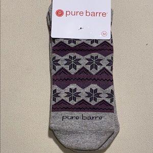 Pure Barre Holiday Lodge Sticky Socks